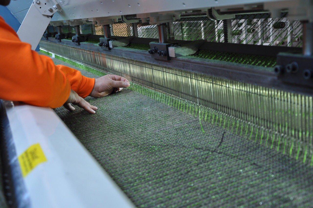 Artificial grass factory