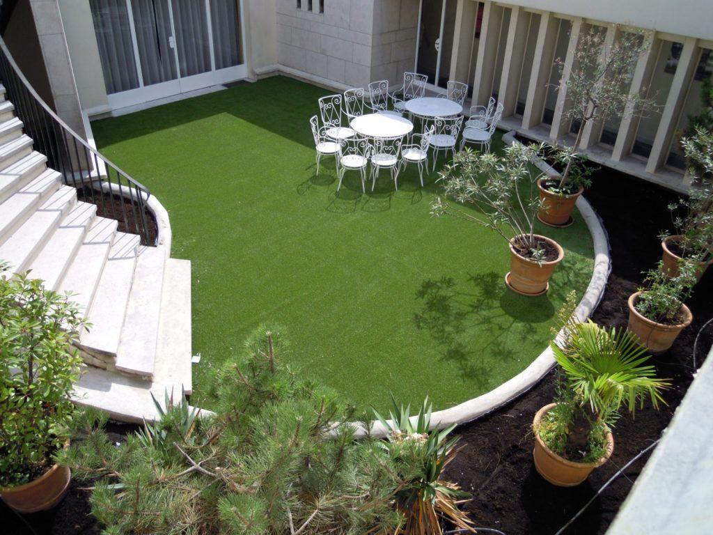 landscaping turf ideas