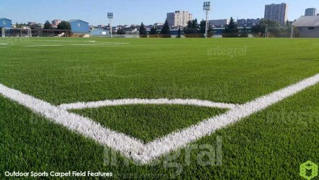 Outdoor Sports Carpet Field Features