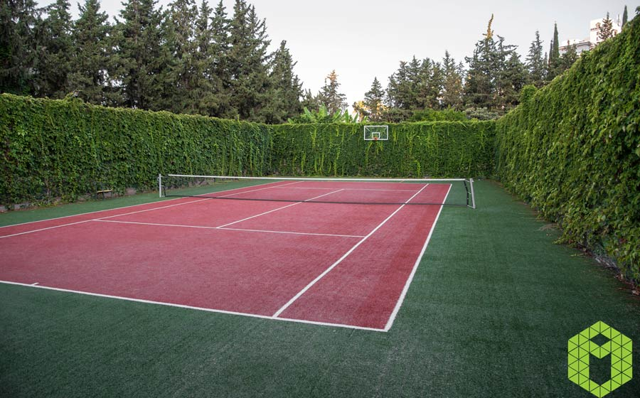 Tennis Courts Grounds